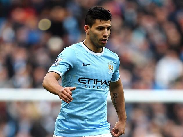 Aguero eyes return to training