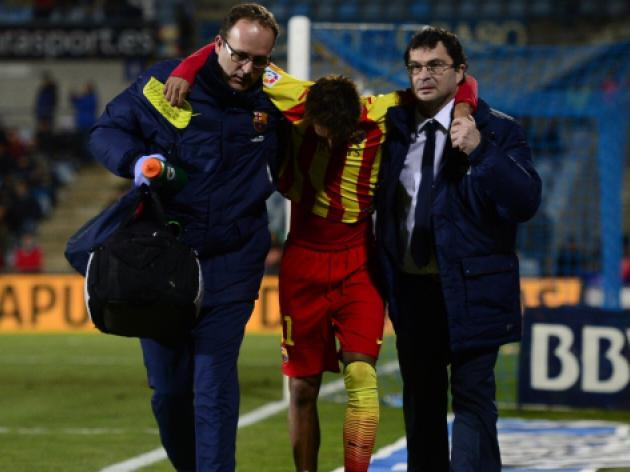 Neymar ruled out for up to four weeks with twisted ankle