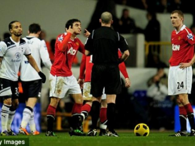 Rafael Da Silva charged over red card rant at Spurs