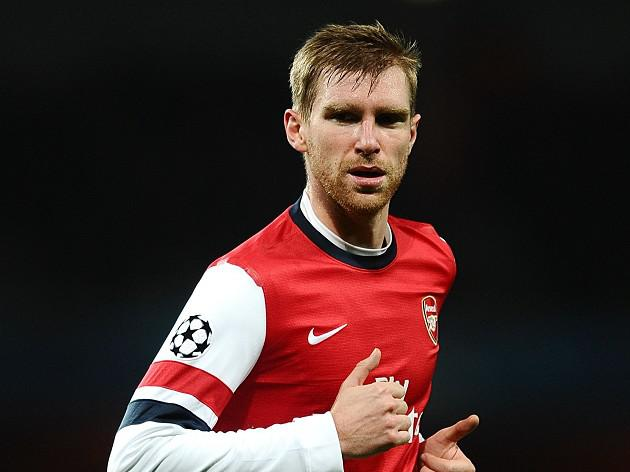 Mertesacker happy to face big boys