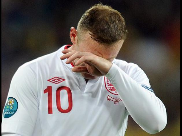 Rooney laments shoot-out exit
