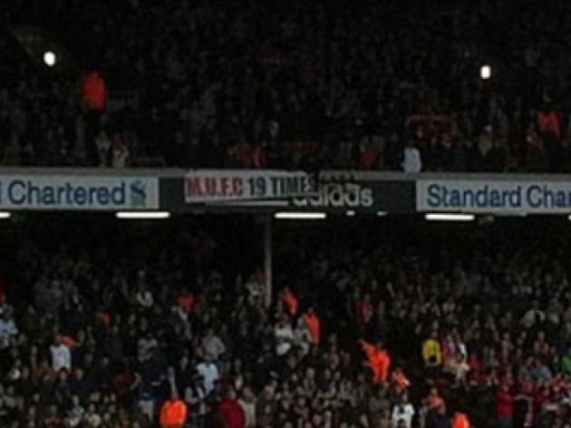 Manchester United fans fire cheeky warning at Liverpool with '19 times' banner inside Anfield