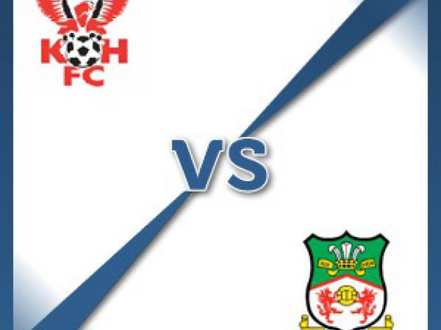 Wrexham away at Kidderminster Harriers - Follow LIVE text commentary