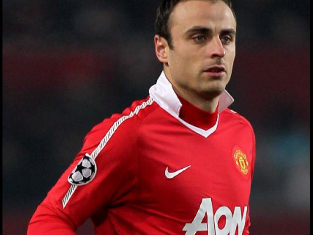 Berbatov sidelined by ankle injury