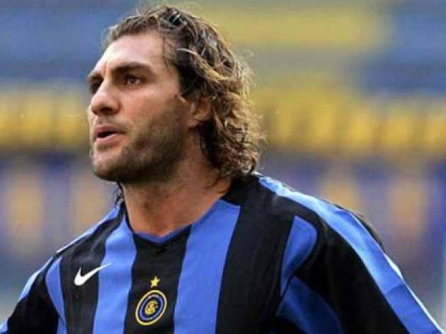 Football: Italy star Vieri bitten on nose by ex-associate