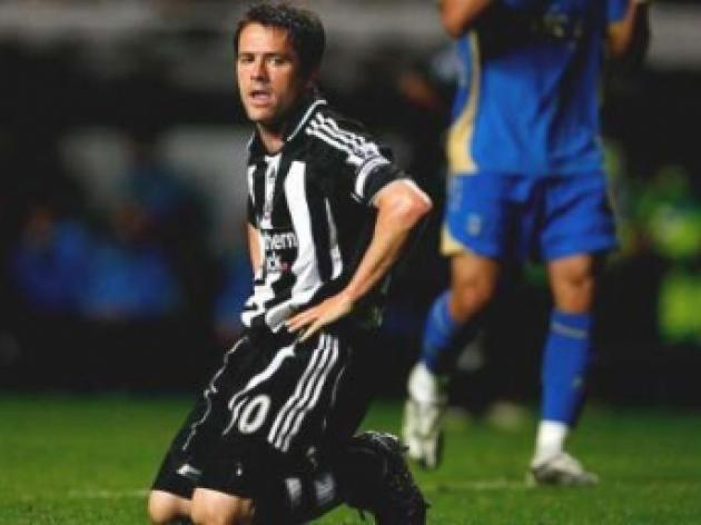 Michael Owen in danger of losing his place at Newcastle United