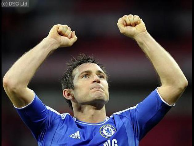 Champions League final star player: Frank Lampard - Chelsea