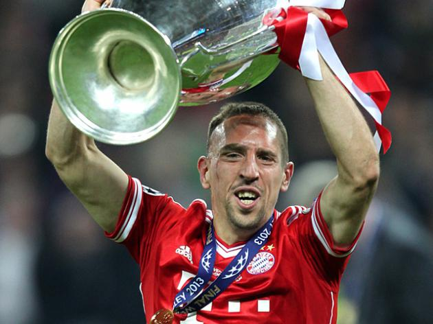 Ribery is European player of the season