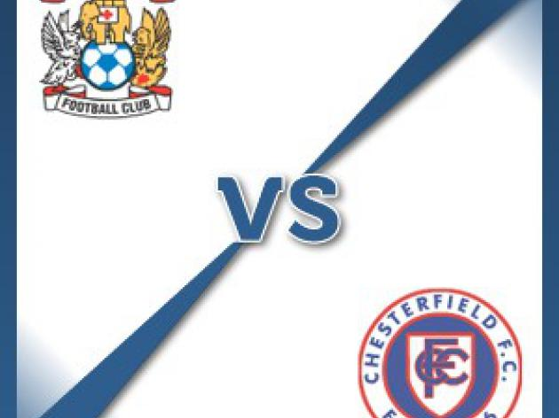 Coventry V Chesterfield at Ricoh Arena : Match Preview