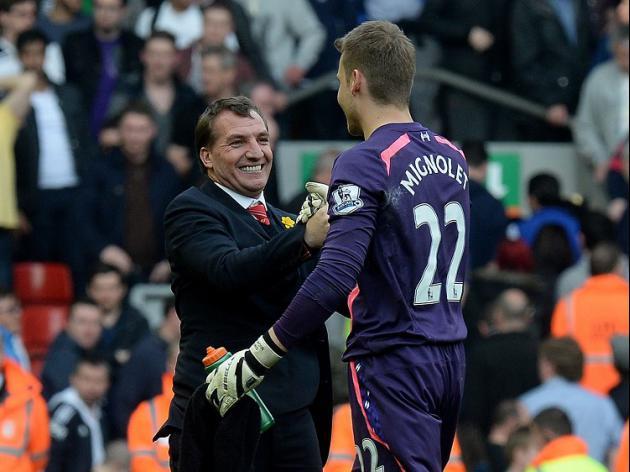 Mignolet hails Liverpool spirit