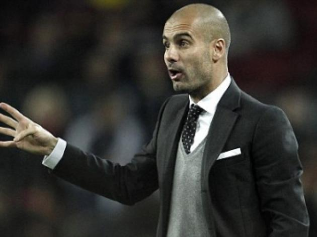 Pep Guardiola talks of an England move after his Barcelona days