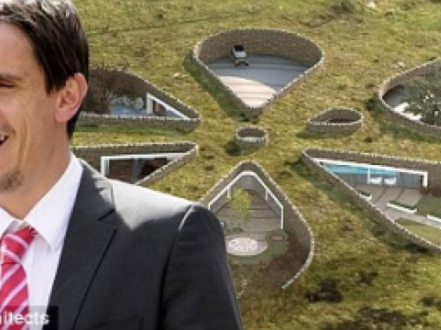 Gary Neville reveals plans for 6m eco-home