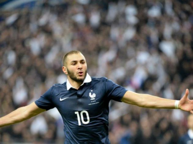 Deschamps delighted with Benzema form