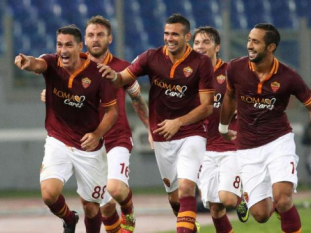 Roma see chance for gap as Juve host Napoli
