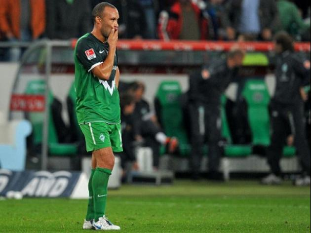 Bremen's Silvestre back in training