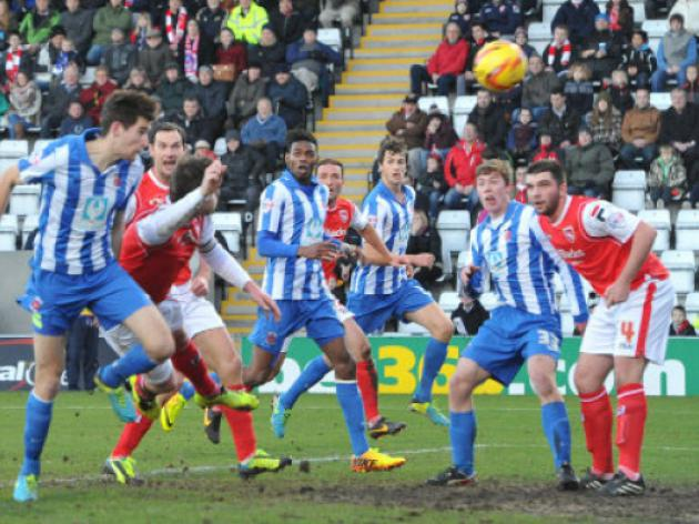 Hartlepool 0-3 Rochdale: Match Report