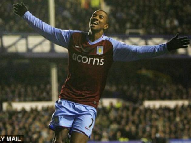 ASTON VILLA v Blackburn: Young ready to return from suspension for Rovers tie