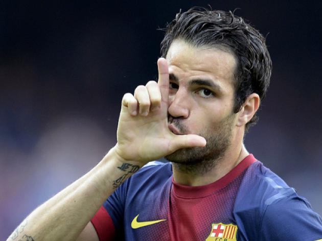 Manchester United fail again in quest to sign Barcelona midfielder Cesc Fabregas