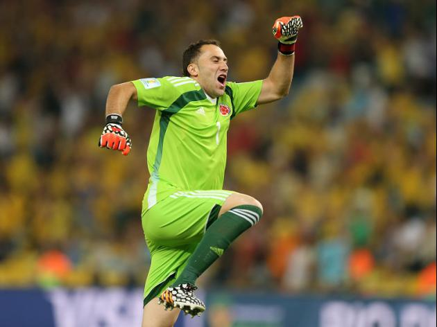 Gunners swoop for goalkeeper Ospina