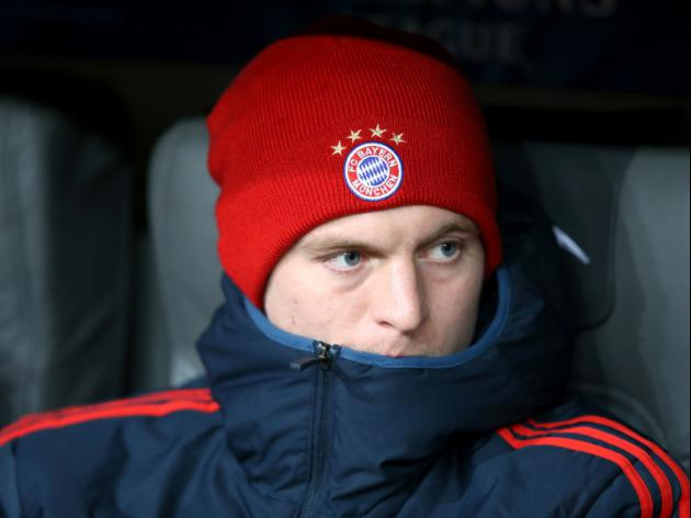 Manchester United target Toni Kroos to stay at Bayern until 2015: agent