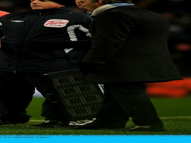 Carlos Tevez bust-up with Roberto Mancini