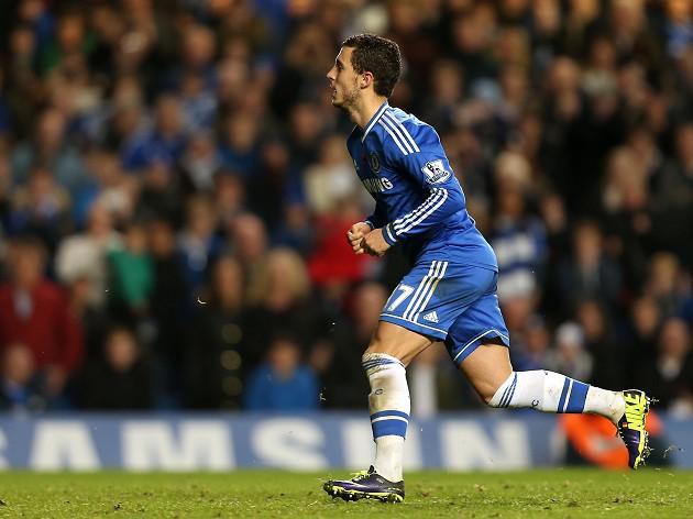 Hazard spares Chelsea blushes