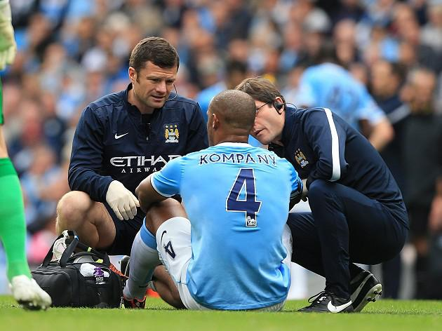 City won't risk Kompany