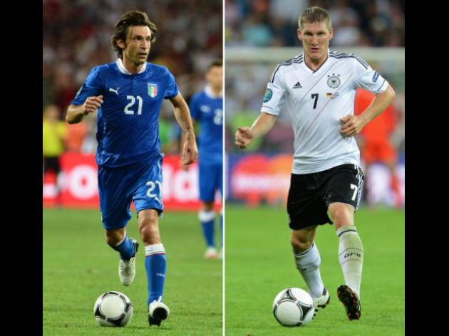 Germany Vs Italy: Key Players