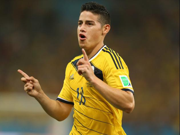 Rodriguez guides Colombia to win