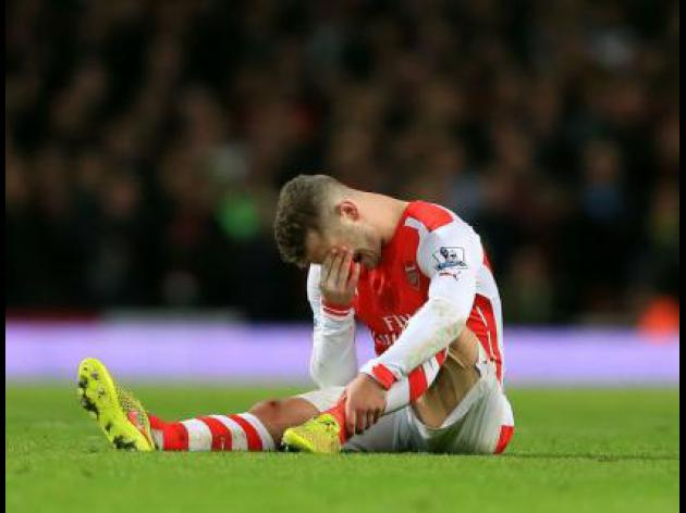 Arsenals Wilshere out for three months