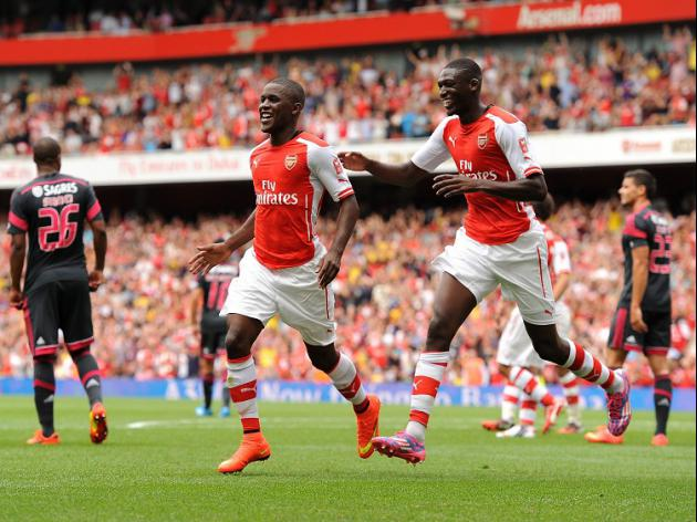 Strike duo in Wenger's plans