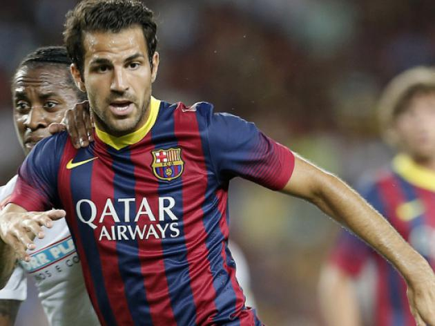 Man United target Fabregas will stay at Barcelona: says Pique