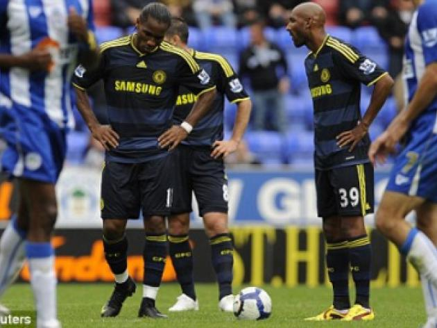 Nicolas Anelka and Didier Drogba don't get along, claims Bolton striker