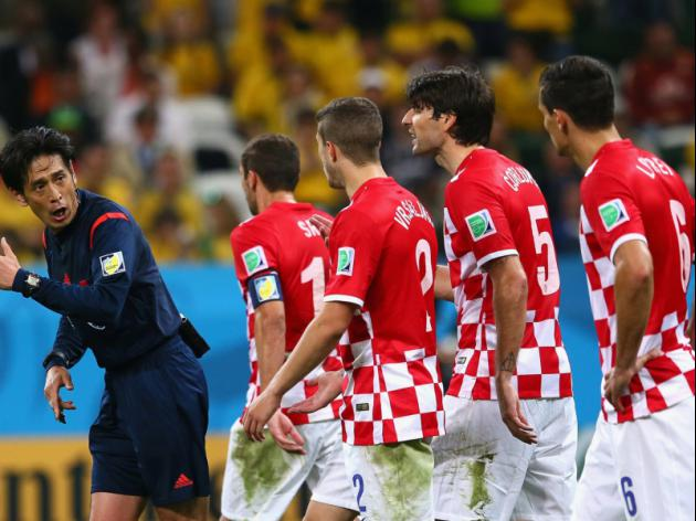 Japan fans shamed after ref aids Brazil in opener