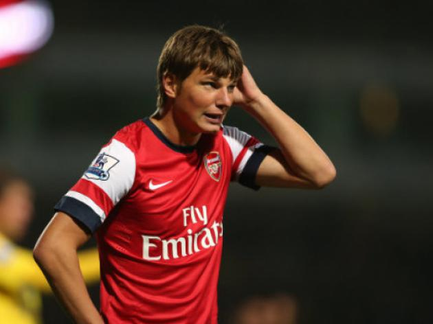 Arsenal's Arshavin returns to former club Zenit