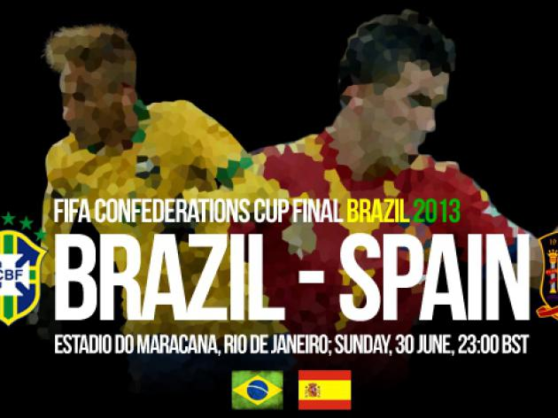 Brazil V Spain: Confederations Cup 2013 Final - Match Preview