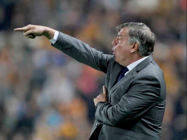 Allardyce to work on defence