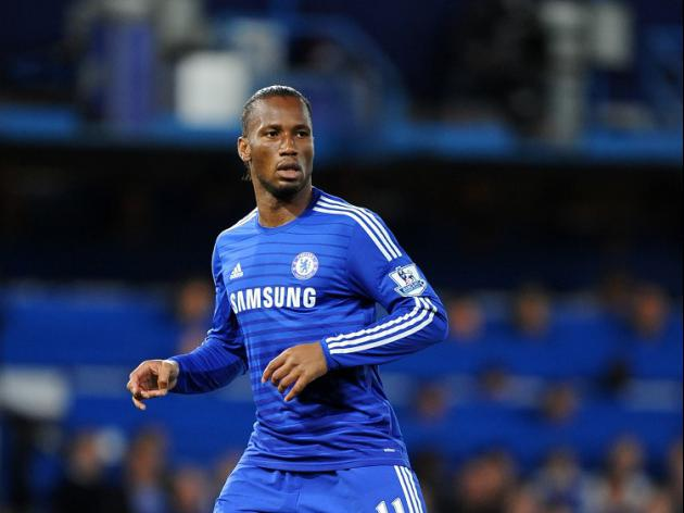 Drogba not part of Chelsea squad