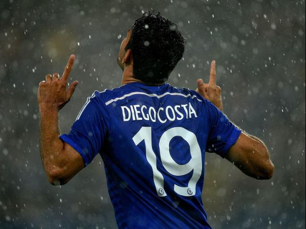 Costa at the double for Chelsea