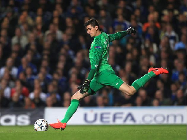 Schwarzer: Courtois is very special