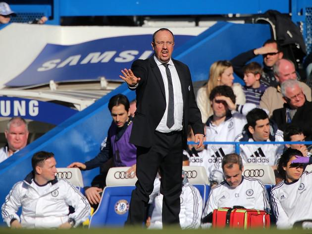 Chelsea boss Rafael Benitez and John Terry dismiss rift reports