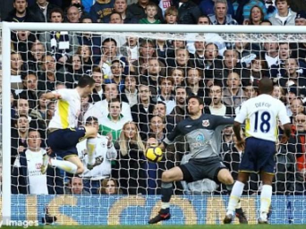 Tottenham 2 Sunderland 0: Keane and Huddlestone complete Bent's misery