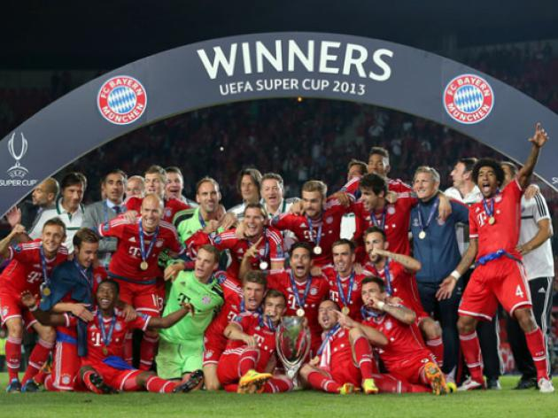 German efficiency: Bayern Munich win the UEFA Super Cup on penalties