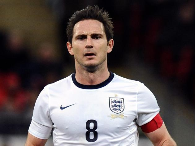 Lampard named England vice-captain