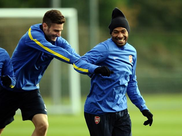 Wenger rules out Henry move