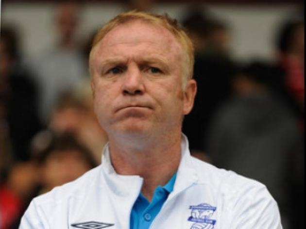 McLeish plays down Blues spending