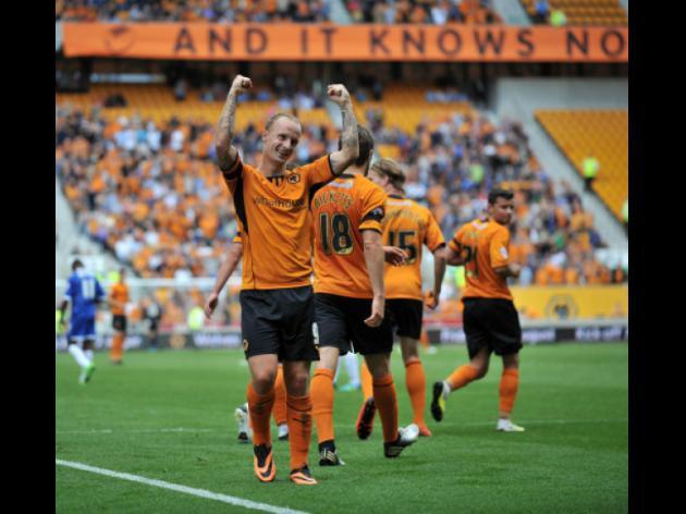 Wolverhampton 4-0 Gillingham: Match Report