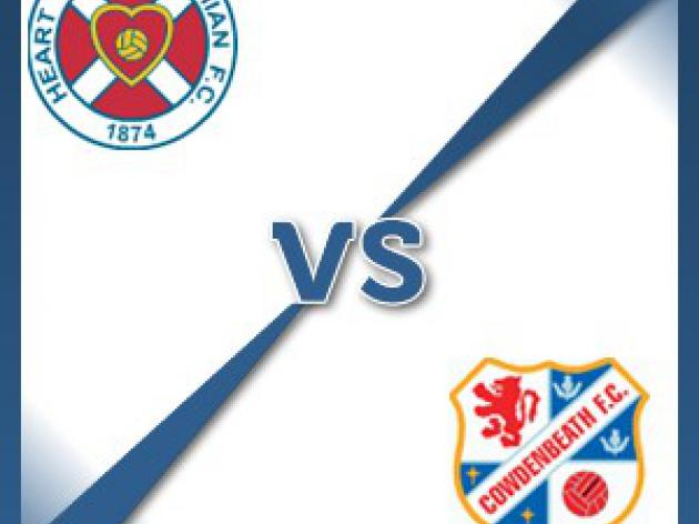 Hearts V Cowdenbeath at Tynecastle Stadium : Match Preview