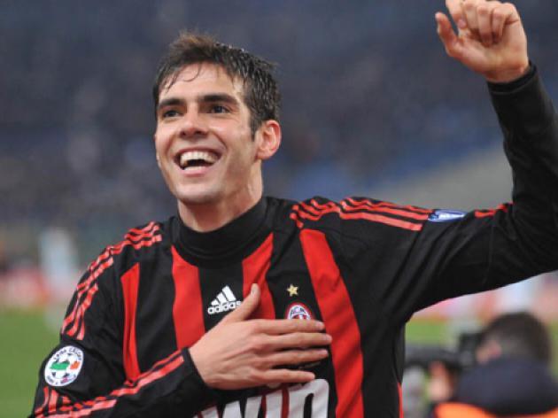 Kaka completes AC Milan return