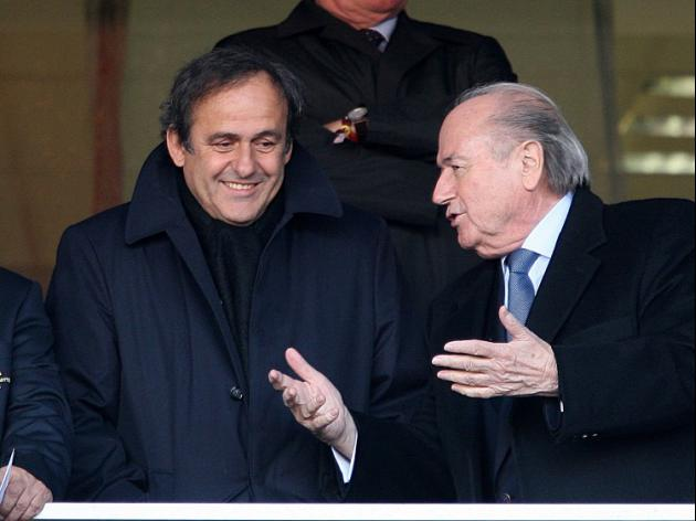 Platini hails 'historic' sanctions